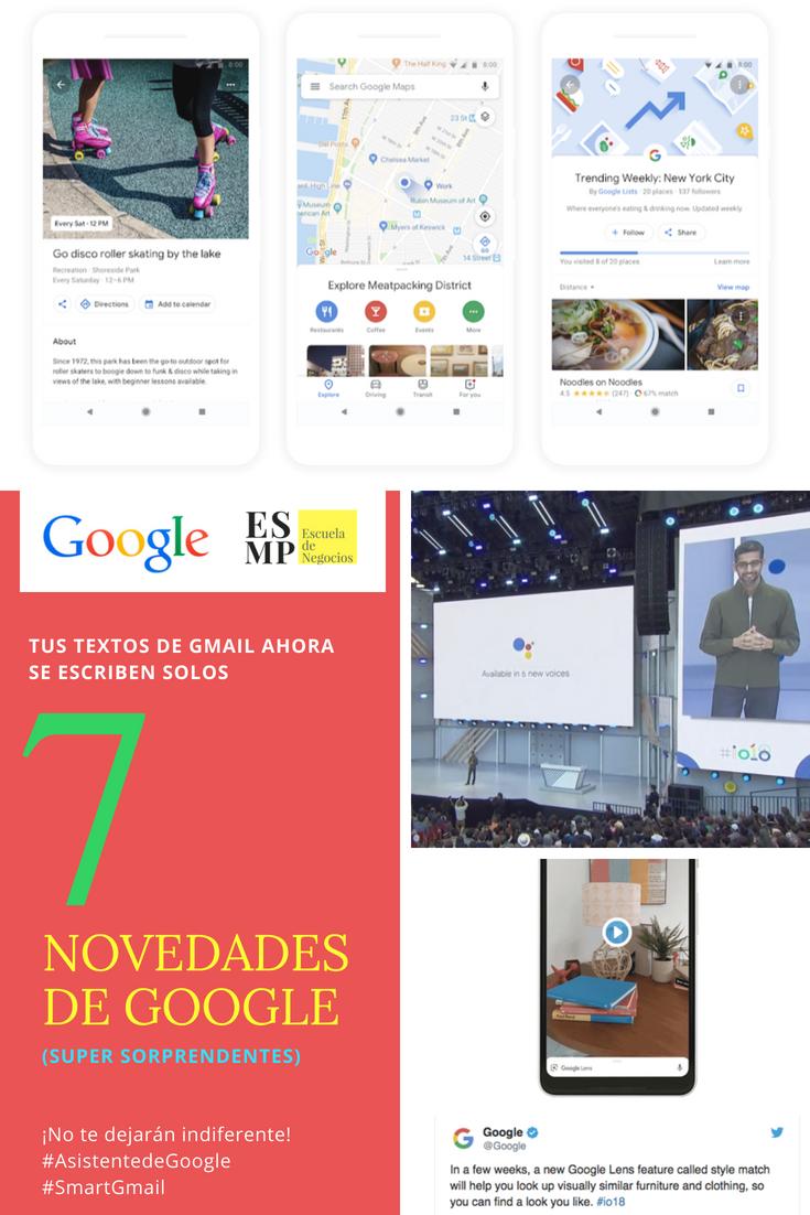 Las novedades más sorprendentes de Google